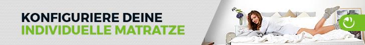Konfiguriere deine individuelle Matratze im HONGi Matratzen Konfigurator
