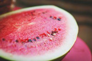 Wassermelone kühlende Lebensmittel