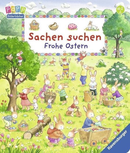 Sachen Suchen frohe Ostern Buch cover