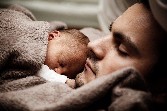 Familienbett Baby