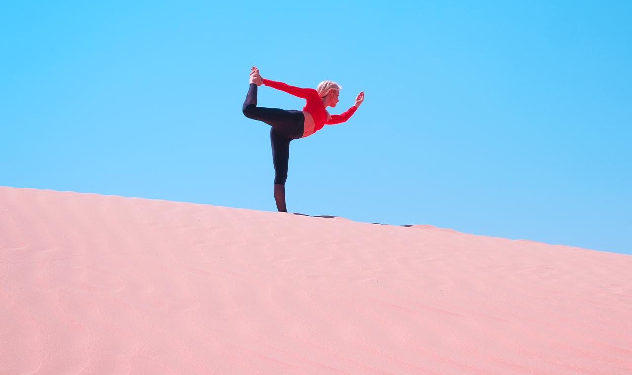 HONGi Interview: 6 Yoga-Übungen für deinen gelungenen Start in den Tag