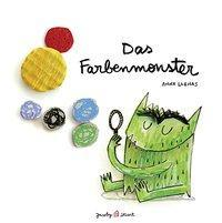 Kinderbuch - Cover - Das Farbenmonster