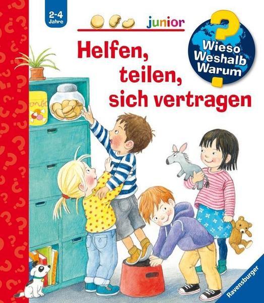 Kinderbuch - Cover - Helfen teilen sich vertragen