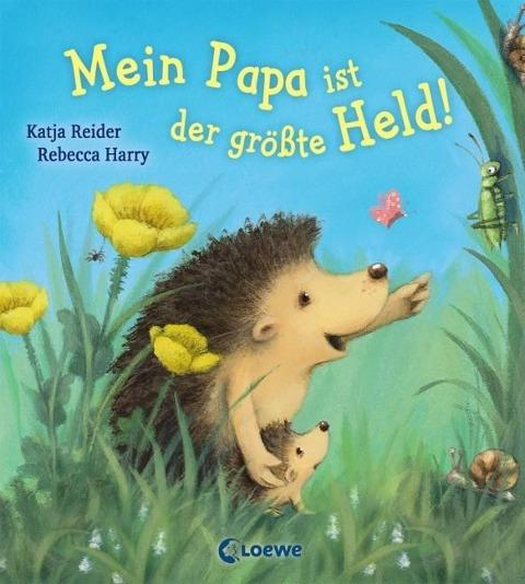 Kinderbuch - Cover - Mein Papa is-t der größte Held
