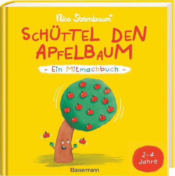 Kinderbuch - Cover - Schüttel den Apfelbaum