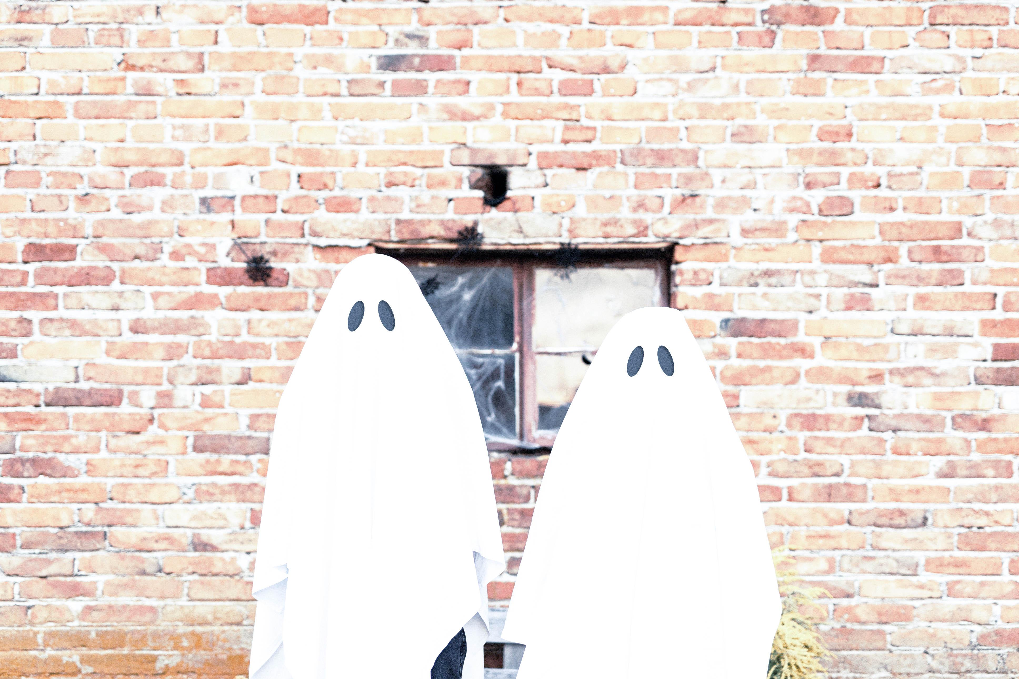 Halloween-Gespenster-Biologische-Geisterstunde